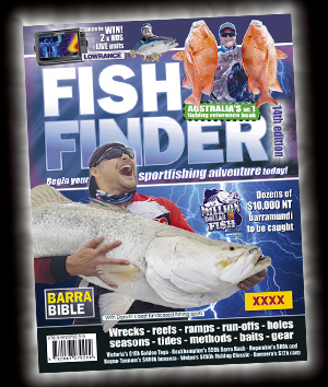 latest FISH FINDER book