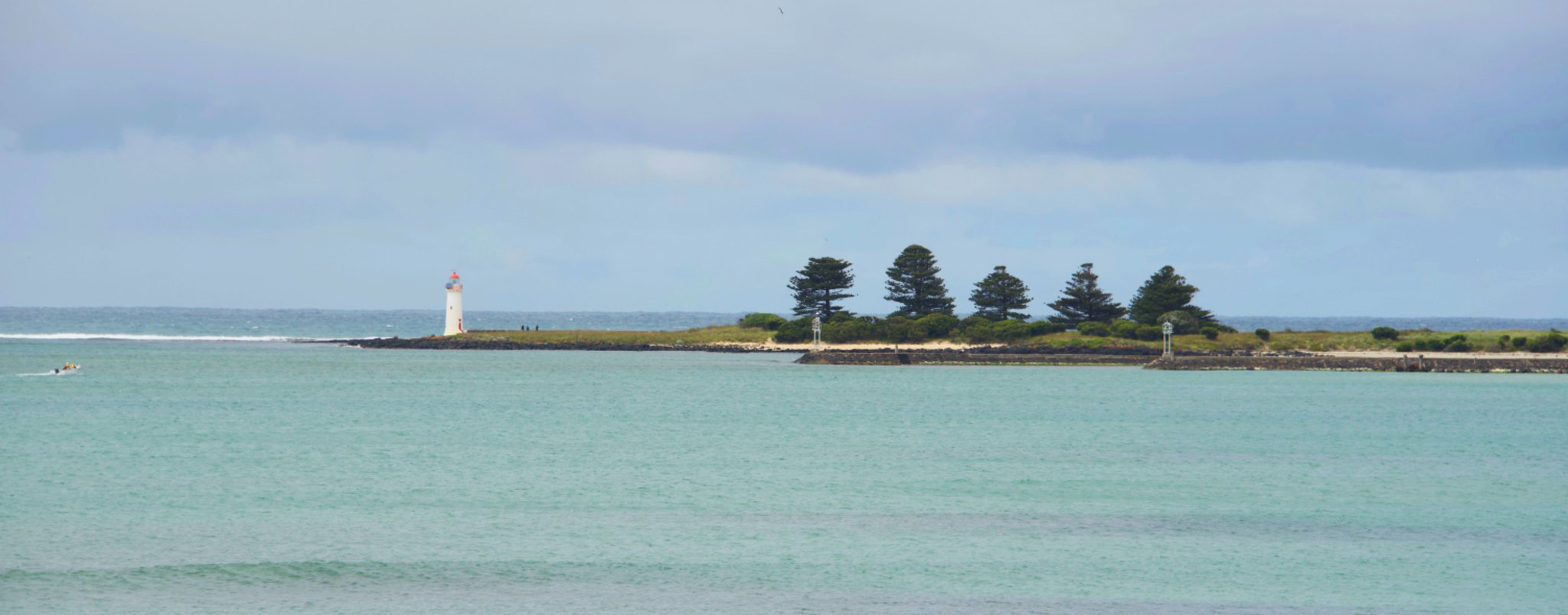 Looking towards Port Fairy lighthouse. Photo: Robert Deutscher