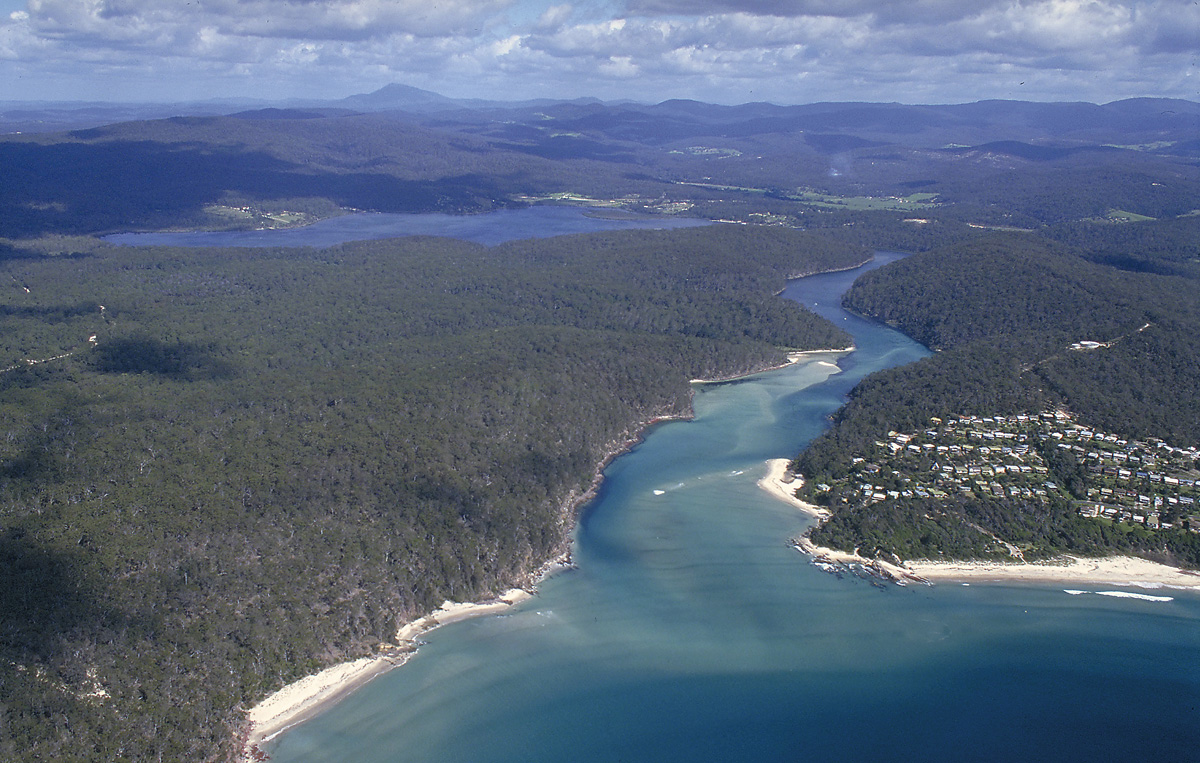 Pambula Lake has excellent fishing at times. Picture John Lugg, NSW Govt