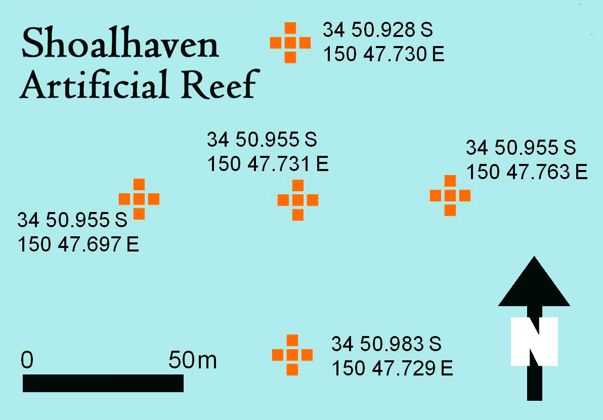Shoalhaven offshore artificial reef