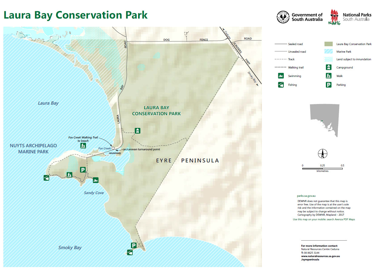 Laura Bay Conservation Park ... click on the image for more info about the park