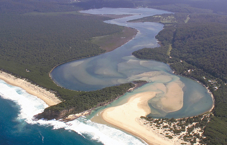 Wonboyn River. Picture John Lugg, NSW Govt